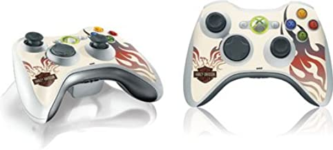 Skinit Harley-Davidson Eagle Flames Vinyl Skin for 1 Microsoft Xbox 360 Wireless Controller