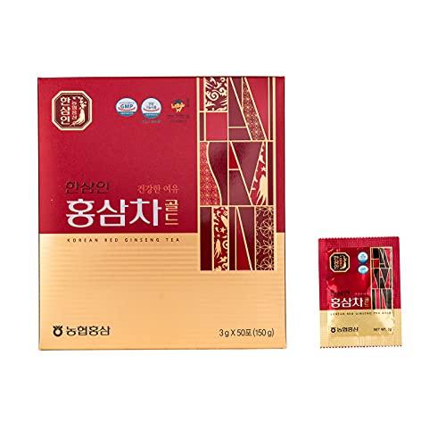 Tè granulare al Ginseng Rosso Coreano, 50 bustine solubili da 3g