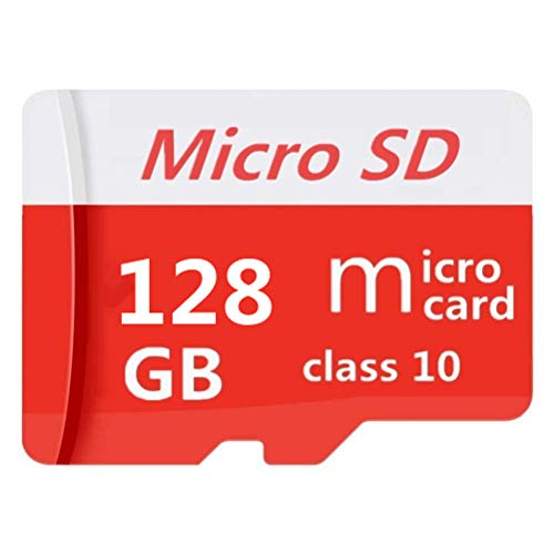 Scheda di memoria Micro SD SDXC, 128 GB, 256 GB, 400 GB, 512 GB, 1024 GB, scheda di memoria SDXC classe 10 ad alta velocità + adattatore incluso (128 GB 1)