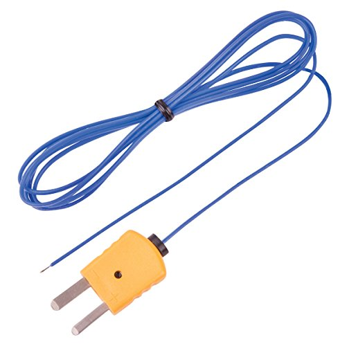 REED Instruments TP-01 Beaded Thermocouple Wire Probe, Type K, -40 to 482°F (-40 to 250°C)
