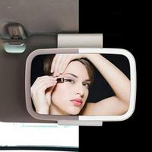 Espejo para El Sol del Coche Espejo Maquillaje Coche con Luz