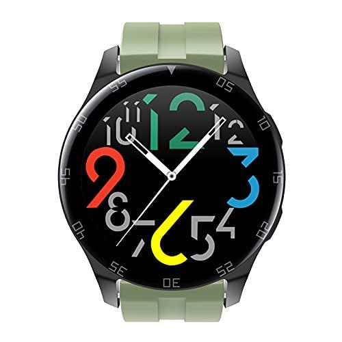 FMSBSC Smartwatch Reloj Inteligente con Llamada Bluetooth Monitor De Frecuencia Cardíaca, Presión Arterial, Oxígeno En Sangre, Sueño, Reloj Deportivo con Pasos Calorías Distancia Rastreador,Verde