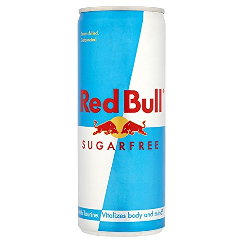 Red Bull Sugarfree 250 ml (confezione da 24 x 250 ml)