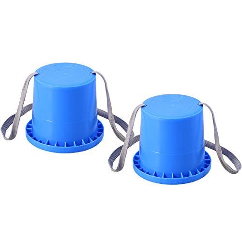 VORCOOL Kinderstelzen Topfstelzen LaufstelzenDosenstelzen Kinder Outdoor Schuhe Spaß Sport Spielzeug (Blau)