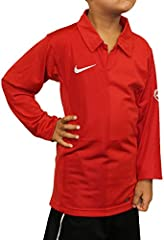 Nike Camiseta de Manga Larga Clásico Color Rojo para Niño