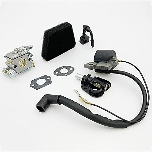 LLXXD Bomba de Aceite de Bobina de Encendido de carburador para Partner 350351370371390420 McCulloch Mac 335, 435, 436, 440, 441, Piezas de Motosierra de Gas Piezas de Repuesto
