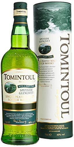 Tomintoul with a Peaty Tang mit Geschenkverpackung  Whisky (1 x 0.7 l)