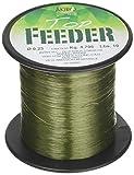 Microphone Alámbrico Negro Top Feeder, Hilo de Pesca Unisex Adulto, Unisex Adulto, AMTOPFEEGR1000.020, Verde Oscuro, 0.2 mm