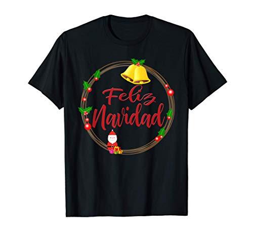 Diseño Divertido Con Adorno Navideño Feliz Navidad Camiseta