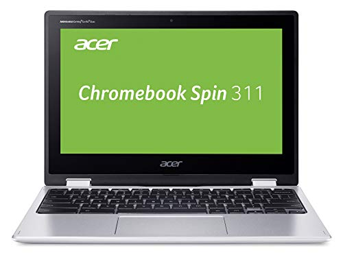 Acer Chromebook Spin 11 Zoll (CP311-2H-C7BG) (ChromeOS, Convertible, HD Touch-Display, Intel Celeron N4100, 12 Monate kostenlos 100 GB Speicher bei Google One, 4 GB RAM, 64 GB eMMC)