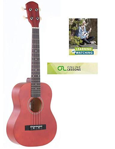 GEWApure PS512840 Ukelele tenor Almeria acabado barnizado mate