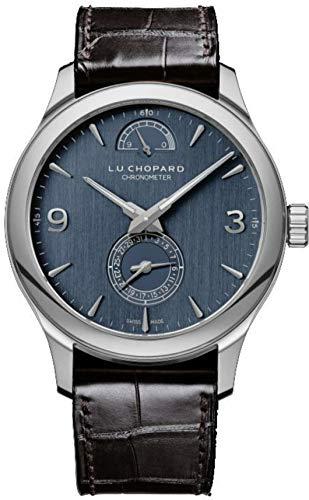 Chopard L.U.C Quattro 43mm Mechanical Manual Wind White Gold Limited Edition Watch