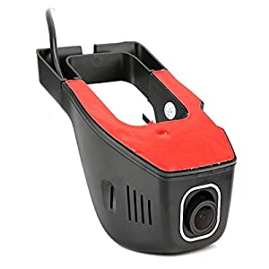 night view Video Recorder, Car Camera, automatic coverage HD for Home Business Pet Cat Monitor by Simlug