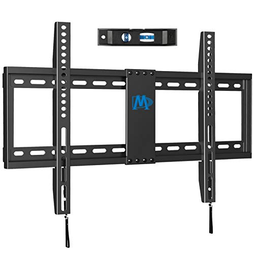 Mounting Dream TV Mount Fixed for Most 4270 Inch Flat Screen TVs  TV Wall Mount Bracket up to VESA 600 x 400mm and 132 lbs  Fits 16quot/18quot/24quot Studs  Low Profile and Space Saving MD2163K