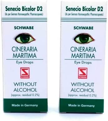 Dr.Willmar Schwabe Limited time trial price Germany Cineraria Opening large release sale Ey Alcohol MARITIMA Without