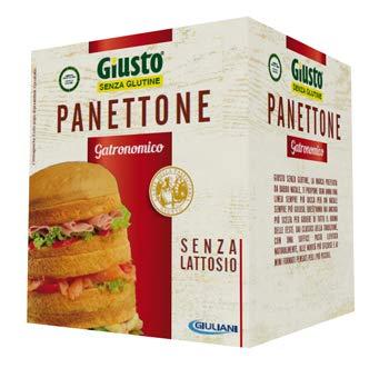 Giusto Panettone gastronomico senza glutine