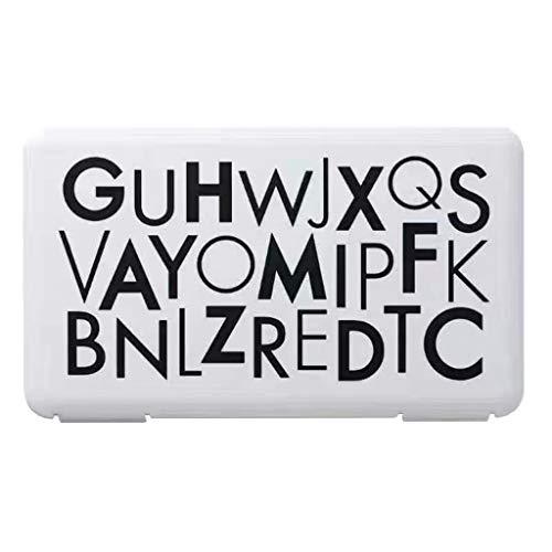 BoîTes De Rangement Slots Transparents En Plastique Nail Art,Sac De Pour De Masque Pliable Clip De Pour Masque Facial(Noir,Free)