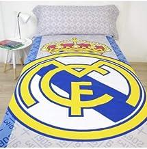 10XDIEZ Juego de sabanas Real Madrid 186002 - Medidas sabanas - 90
