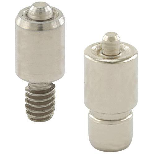 GETMORE Parts Werkzeug für Ösen, Ösenwerkzeug, Presswerkzeug, zweiteilig, für Ösenpresse, Handpresse, Hebelpresse, Nietpresse - für Metallösen, 3 mm