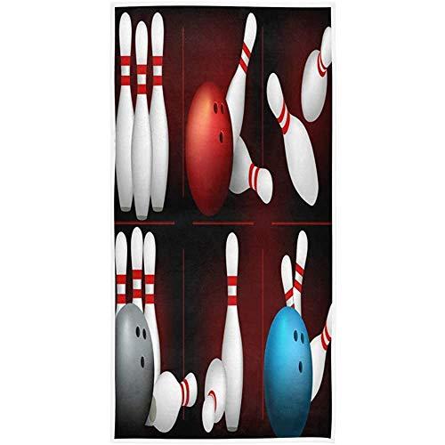 W-wishes Bowlingkugel Soft Bath Hotel Spa Hand Fitnessstudio Sporttuch