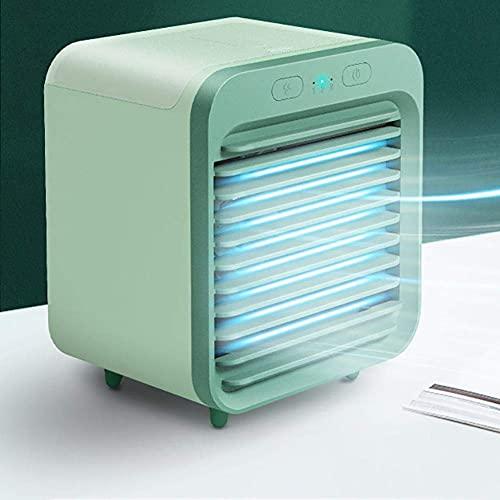 Raffreddatore d aria per uso domestico Mini condizionatore d aria, portatile Air Cooler Space personale Home Umidificatore 150ml Ventola di raffreddamento ad aria USB per l ufficio Raffreddatore evapo