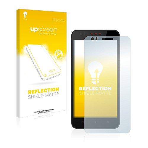upscreen Entspiegelungs-Schutzfolie kompatibel mit HTC Desire 825 – Anti-Reflex Bildschirmschutz-Folie Matt