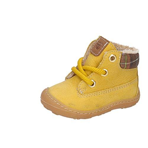RICOSTA Unisex - Kinder Winterstiefel TARY von Pepino, Weite: Mittel (WMS), Winter-Boots Outdoor-Kinderschuhe warm gefüttert,senf,21 EU / 5 Child UK