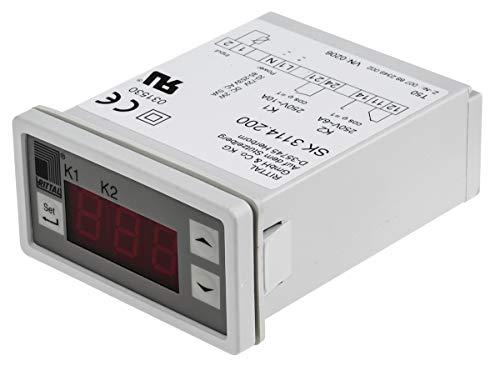Rittal Schaltschrank-Thermostat, 5 → +55 °C, Wechsler
