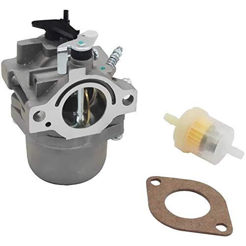 Fashion SHOP Carburador Carburador Compatible con Nikki Briggs & Stratton 799728 reemplaza 495706 494392 498134 (p26b) Controlar