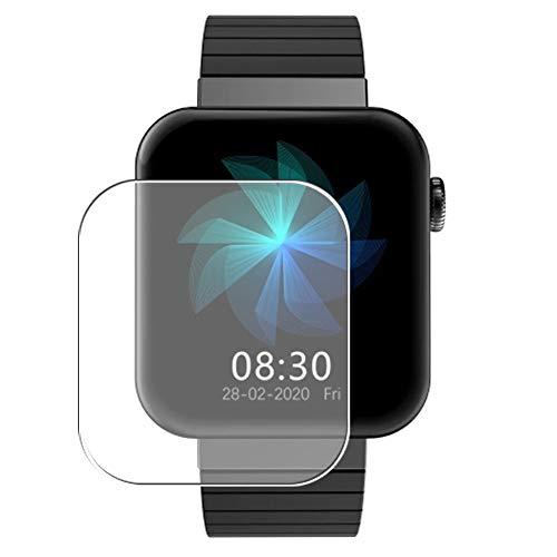 Vaxson Protector de Pantalla, compatible con Bakeey Mi5 smart watch, 3 Unidades TPU Film Screen Protector [ No Vidrio Templado ]