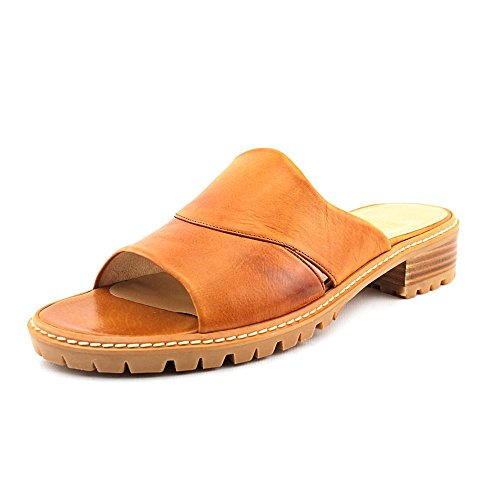 STUART WEITZMAN CityMule Femmes Beige Cuir Chaussures Sandales EU 39