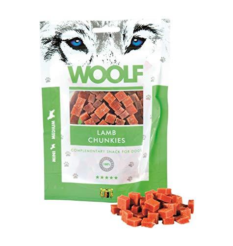 Woolf Snack Chunks Agneau 100gr