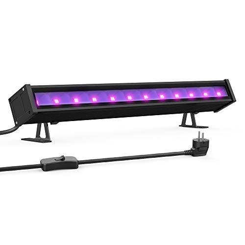 Onforu 24W Luz LED UV Lámpara de Luz Negra