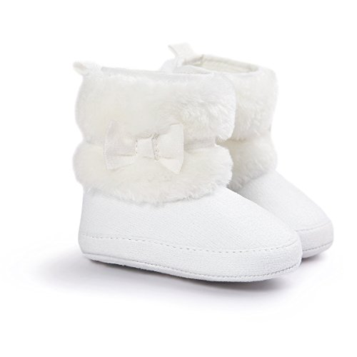 Infant Girl White Boots