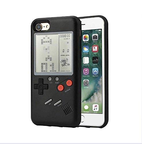 Game Case - Carcasa para iPhone 6 a iPhone X, color negro