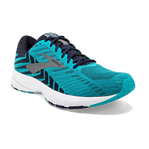 Brooks Launch 6, Zapatillas de Running para Hombre, Multicolor (Bluebird/Peacoat/Shade 435), 40.5 EU
