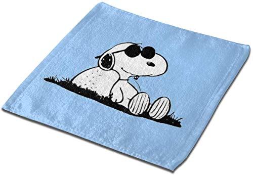 not applicable Mikrofaser quadratisches Tuch, cool Snoopy Soft Skin-Frendly Sweat Handtuch Gesicht Handtuch Hand Handtuch-