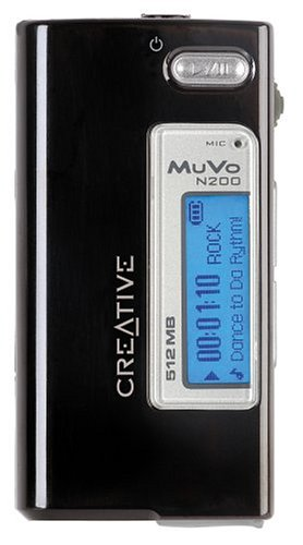 Creative MuVo Micro N200 512 MB MP3 Player Black