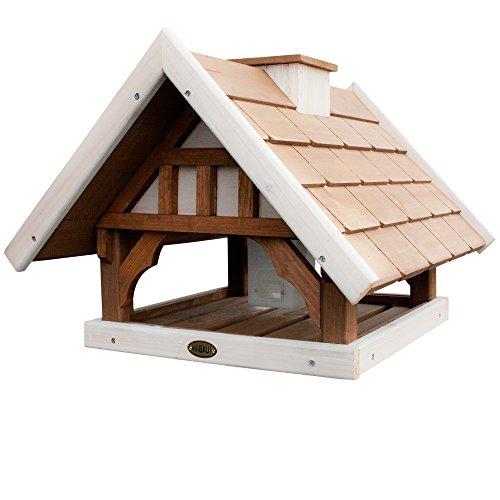Habau 2506 Vogelhaus Kanada mit Silo und Ständer