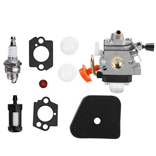 AMONIDA Carburador, Accesorios de Repuesto para escarificador, carburador para escarificador, Apto para fs110r fr130t Compatible con STIHL fs100r fs110