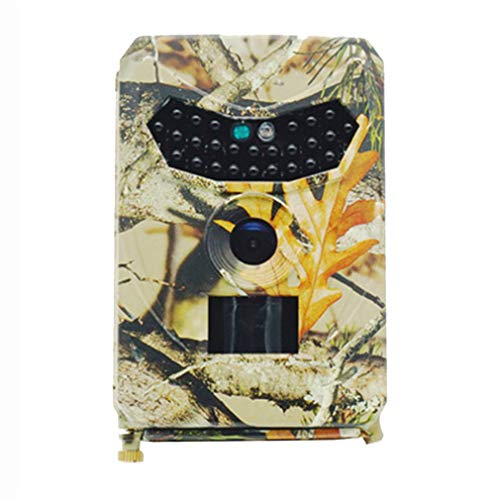 N / A 12MP Wildtierkamera 1080P | IP54 Wasserdicht | Arbeitsmodus Einstellbar | Nachtsicht Wildkamera für Outdoor-Natur Garten Haus Sicherheitsüberwachung - PR100