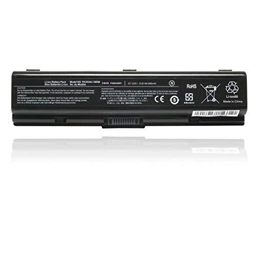 New 10.8V 6 Cell PA3534U PA3534U-1BRS Battery Replace for Toshiba PA3533U...