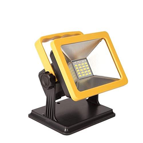 SYLOZ-URG LED Recargable Luces de Trabajo Luces de Emergencia Luces de inundación portátil Verticales al Aire Libre Luces de Trabajo, 3 Modo Brillo URG