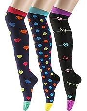 Litthing, 3 paia di calze a compressione da donna