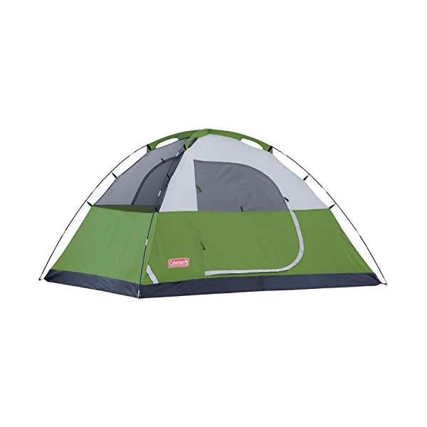 Coleman Sundome 6 Person Tent (Green and Navy color options)