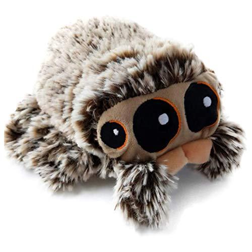 Stofftier Spinne, 16cm / 20cm Kinder Spider Plüschtier Kuscheltier für Halloween Dekoration