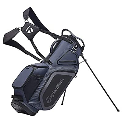TaylorMade TM20Stand8.0BagCharcoalBlack Bolsa con
