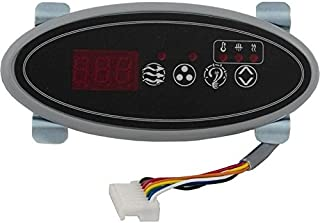 Hydro-Quip 34-0200 Eco-2 Small Oval Topside Control with 10` Cord