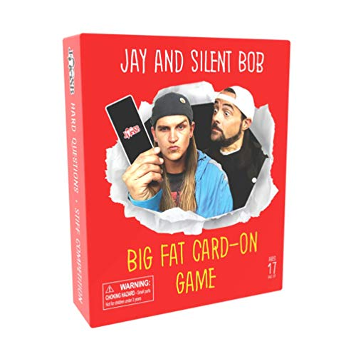 Jay and Silent Bob Big Fat Card-On Game, Party Card Game with Adult Friends