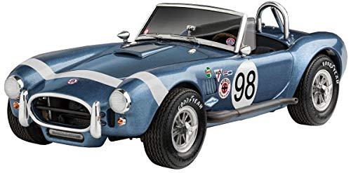 Revell 07669 AC Cobra 289 originalgetreuer Modellbausatz für Experten, unlackiert